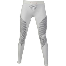 UYN Fusyon UW Lange Broek Dames, snow white/anthracite/grey